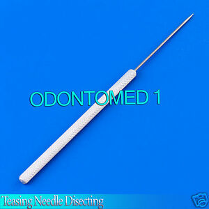 100 Teasing Needle Disceting Surgical veterinary Econo