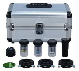 Phase Contrast Set For Compound Microscope W Three Condensers three Objectives