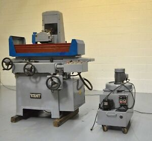 1987 Kent Kgs 1020ahd 10 X 20 Hydraulic Surface Grinder W Automatic Downfeed