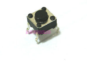 6 X 6 X 4 3mm Micro Momentary 4 way Tact Tactile Push Button Tiny Switch X 20