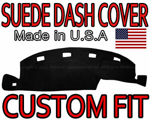 Fits 1994 1997 Dodge Ram 1500 2500 3500 Suede Dash Cover Dashboard Pad Black