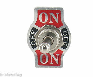 Heavy Duty 20a 125v 15a 250v Spdt 3 Term On Off On Momentary Toggle Switch