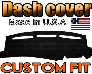 Fits 1999 2006 Chevrolet Silverado 1500 2500 3500 Dash Cover Mat Black