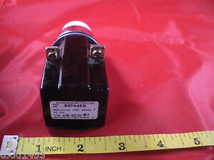 Furnas 52pa4eb Series F White Pushbutton Switch Operator 120v Ac dc Nnb New