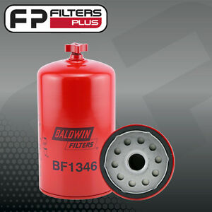 Baldwin Fuel water Seperator Spin on With Drain Bf1346