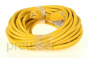 Twist Lock Power Cord For Edic Carpet Extractor 50 extension Cable Cleaning