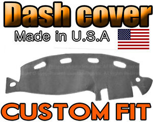 Fits 1998 2001 Dodge Ram 1500 2500 3500 Dash Cover Mat Dashboard Charcoal Grey