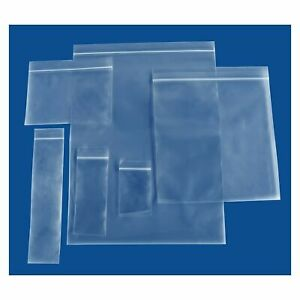 Assorted Clear Small Pharmacy Reclosable Plastic Bags 2mil 4mil
