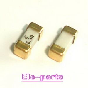10 Pcs 1808 6 3a 125v Littelfuse Fast Acting Smd Fuse