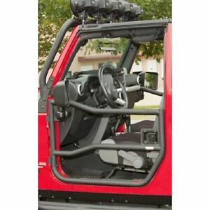 Rugged Ridge 11509 10 Black Front Steel Tube Doors For Jeep Wrangler Jk Jku