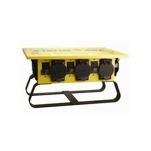 Coleman Cable 01970 50 Amp Portable Power Distribution Spider Box