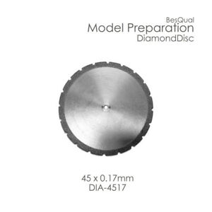 Dental Lab Diamond Disc 45mm X 0 17mm 3 pieces For Plaster Die Stone