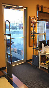 Dollar Store Retail Security System Towers For A Double Doorway Made In Usa