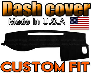 Fits 2005 2015 Toyota Tacoma Dash Cover Mat Dashboard Pad Black