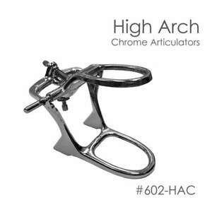 Denture Articulator High Arch Chrome 6 Articulators New