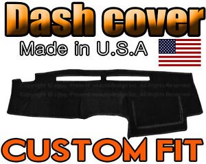 Fits 2002 2004 Nissan Frontier Dash Cover Mat Dashboard Pad Black
