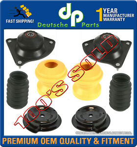 Mini Cooper Front Left Right Strut Shock Mounts Bearings Boot Suspension Kit 6