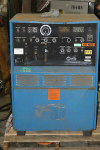 Miller Syncrowave 300 Arc Tig Welder For Part Or Repair