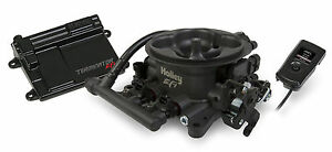 Holley 550 406 Terminator Efi 4bbl Throttle Body Fuel Injection System