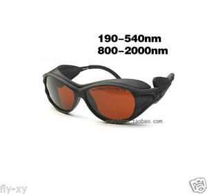 Protective Goggles For 190 540nm 800 2000nm Laser all Wavelength Glasses Eyewear