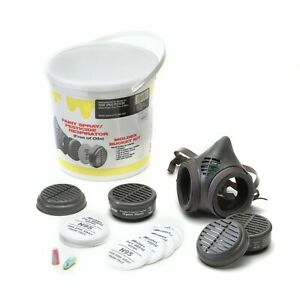 Moldex 8113kn Paint Spray pesticide Niosh Assembled Respirator Bucket Kit Large