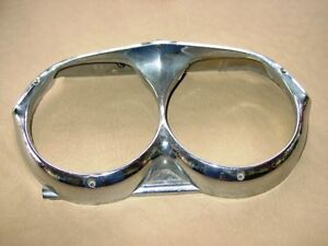 62 1962 Pontiac Right Head Light Bezel Catalina Part 541067 Inventory Be Be 2