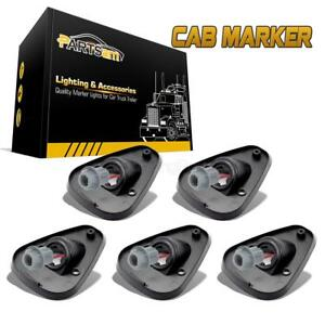 5pcs Roof Running Light Cab Marker Bases For Ford F 250 F 350 F 450 Super Duty