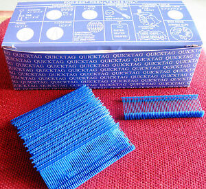 5000 1 Inch Regular Blue Price Tag Tagging Barbs Fasteners