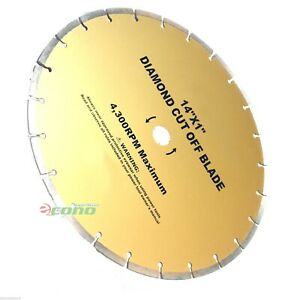 14 Diamond Cut Off Blade 4 Concrete Brick Stone Slate Multi Purpose Masonry
