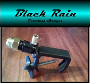 Black Rain Boomless Sprayer Nozzle For Utv side By Side Spot Sprayer