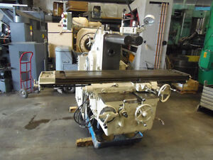Kearney Trecker 420 tf16 Horizontal Mill 16 X 80 Table 20 Hp Runs Nice