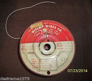 Hitemp Wires Co Roll Of 2800 Feet Teflon Wire As Pictured