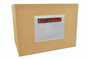 Invoice Enclosed 7 5 X 5 5 Panel Face Envelopes Shipping Supplies 1000 Pcs