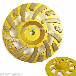 7 Diamond Cup Grinding Wheel 25 30 Grit For Concrete Epoxy Removal 5 8 11