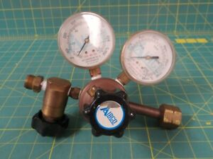 Airco Pressure Regulator W Shut off Valve 0 700 Kpa 0 28 000 Kpa