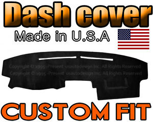 Fits 2002 2006 Toyota Camry Dash Cover Mat Dashboard Pad Black