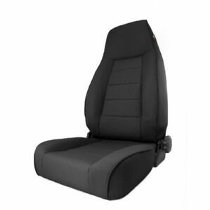Rugged Ridge 13445 15 Black High back Reclinable Front Seat For Jeep Cherokee