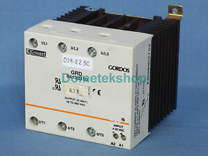 Crouzet Gordos Grd84130310 Solid State Relay 3 phase 60 day Warranty