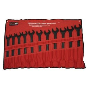 11pc Jumbo Grip Metric Combo Wrench Set 34 35 36 38 40 41 42 46 48 50mm 89082