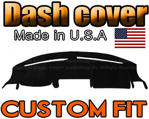 Fits 1997 2001 Honda Crv Dash Cover Mat Dashboard Pad Black