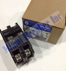 Ge General Electric Thqc2130wl New Circuit Breaker 2 Pole 30 Amp 240v box Of 3