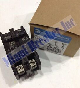 Ge General Electric Thqc2140wl New Circuit Breaker 2 Pole 40 Amp 240v box Of