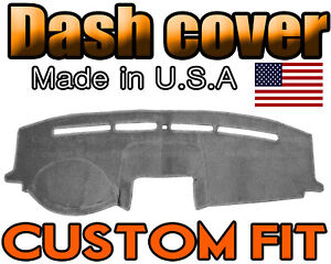 Fits 2008 2012 Ford Escape Dash Cover Mat Dashboard Pad Charcoal Grey