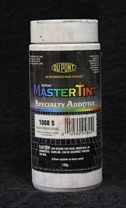 Dupont Mastertint 1008s Specialty Additive Moss Green Pearl Slightly Used