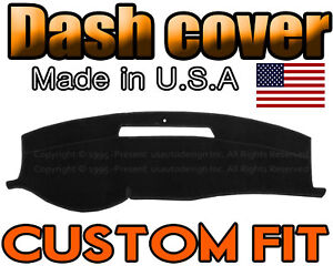 Fits 2006 2013 Chevrolet Impala Dash Cover Mat Dashboard Pad Black