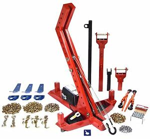 The Mighty Duke Power Pull Md301fp Portable Frame Machine Autobody Repair System