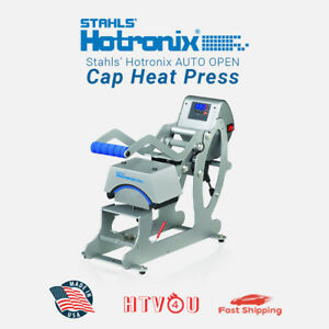 Stahls Hotronix Auto Cap Heat Press Stxc 120 3 5 X 6