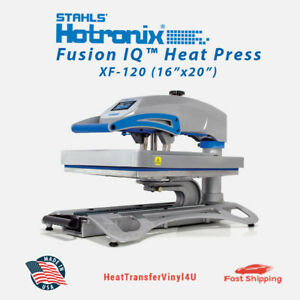 Stahls Hotronix Fusion Iq Heat Press Xf 120 16 X 20