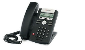 New Asterisk Voip Small Business Pbx W 3 Polycom Sip Phone Telephone System