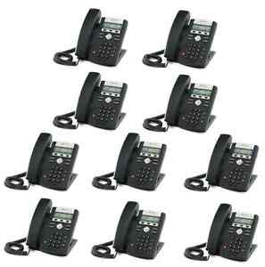 New Asterisk Voip Small Business Pbx W 10 Sip Polycom Phone Telephone System